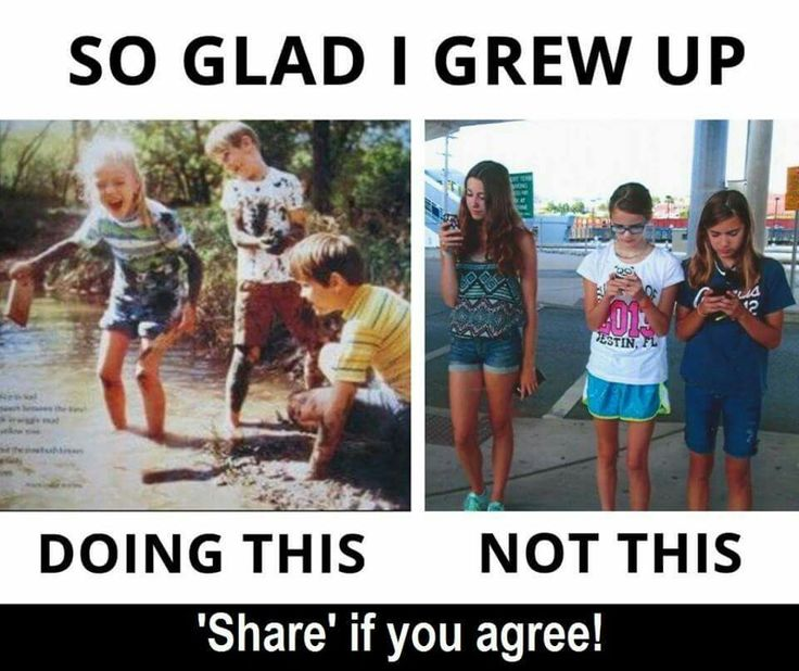#Childhood. Honestly I'm growing between them but I know my limits for how much I'm on my phone cause most of the time reading