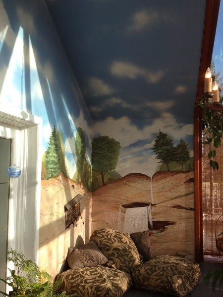 Wall by our painters in Toronto