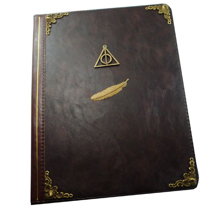 Harry Potter Book Leather Cover : Best images about harry potter design items on