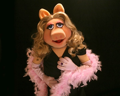 My #interfloramum has been likened to Miss Piggy. It's the blonde hair and kick ass attitude. Maybe it's because they are both so Girly, Glam and pink!!! #GirlyGirl #Gorgeous!!