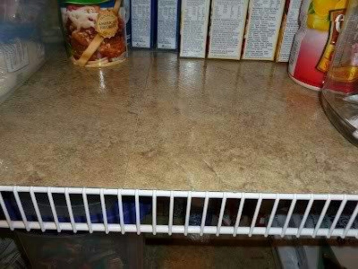 Sticky tiles on wire shelves. 17 Best images about Peel and stick tile on Pinterest   Vinyls