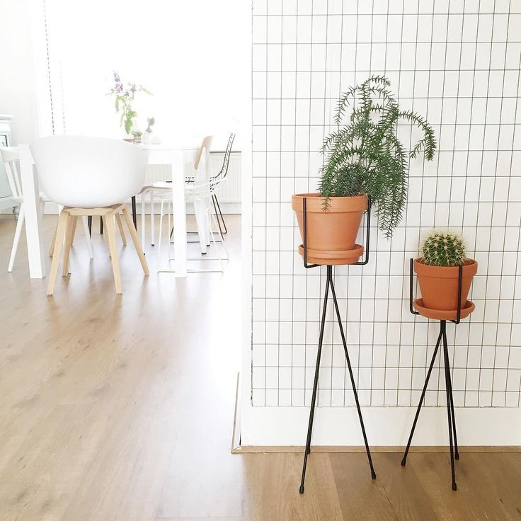Nordic inspired interior design - subtle and clean perfection! ferm LIVING Plant Stand: http://www.fermliving.dk/webshop/webshop.aspx?eComSearch=True&ID=247&eComQuery=plant+stand ferm LIVING Grid Wallpaper - http://www.fermliving.dk/webshop/webshop.aspx?eComSearch=True&ID=247&eComQuery=Grid+Wallpaper