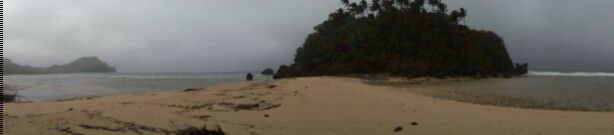 2014 Tablas Island, Romblon. Binukot Beach amidst Basyang the storm