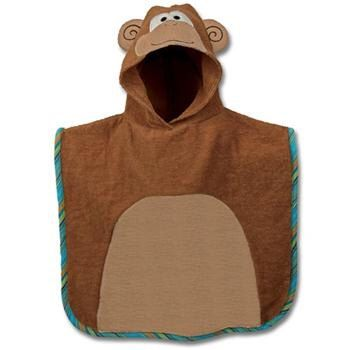Clearance Sale--Personalized Monogrammed --Stephen Joseph Kid Bath Beach Monkey Hooded Towel Poncho--Free Monogramming-- by ohsewsassycreations on Etsy https://www.etsy.com/listing/158674486/clearance-sale-personalized-monogrammed