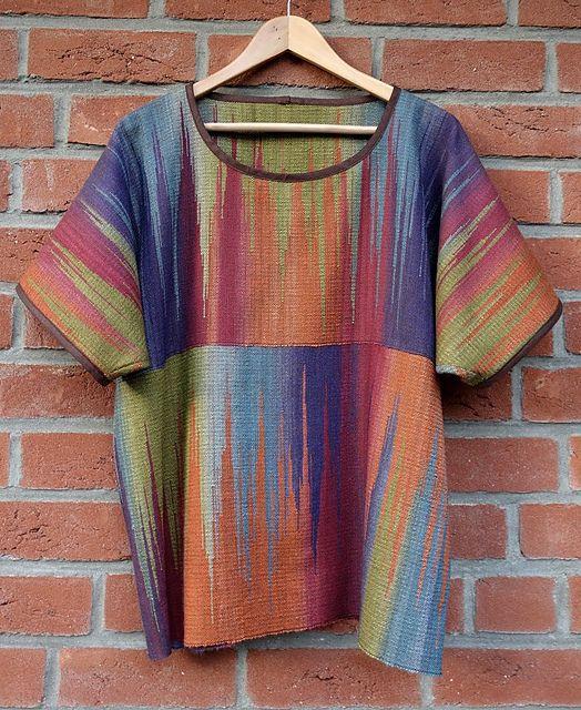 Ravelry: Kiki73's Shirt mit Clasped Weft