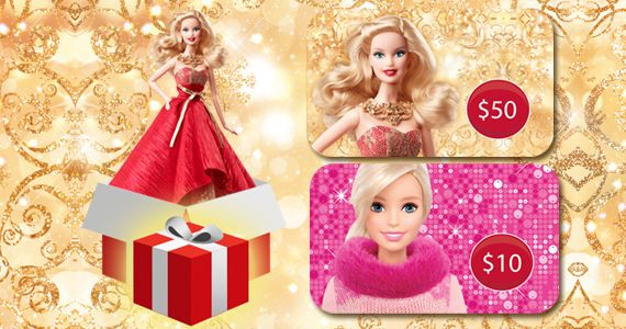 Win a Holiday Surprise from Barbie