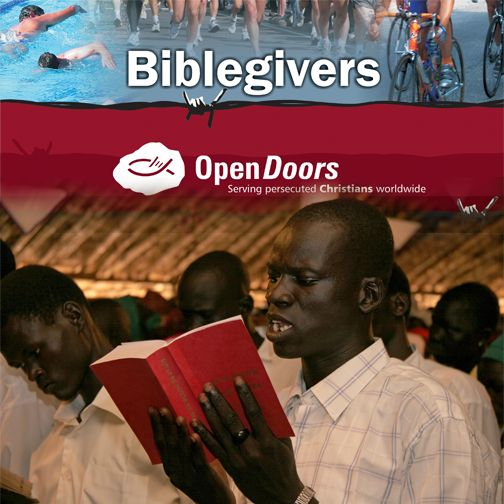 Have you been wondering how you can support the persecuted Church?  The good news is – YOU CAN! If you are an athlete or if you enjoy the outdoors you can register to become a Biblegiver. By taking part in marathons or triathlons or other sports events, you can bring Bibles to those who are in desperate need of the Word of God.  Here's how: http://ht.ly/KnZjf