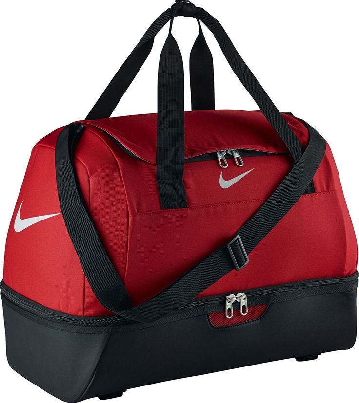 Nike Club Team Swoosh Hardcase M Sport Duffel, 47 cm, 62 liters, Red (Rot): Amazon.co.uk: Luggage