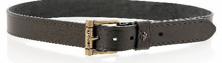 Armani Jeans Black Leather Belt Armani Jeans Brown Leather Belt a wide belt made from 100% leather in black with 5 size holes and a large metal buckle. There is a small Armani Jeans emblem on the belt loop and Armani Jeans in engrav http://www.comparestoreprices.co.uk/designer-clothing/armani-jeans-black-leather-belt.asp