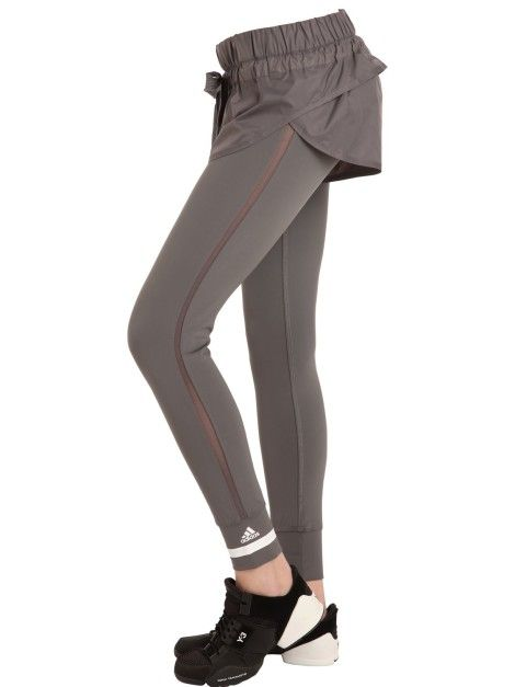 Pantalons Leggings Femmes - Adidas X Stella McCartney Leggings serrés