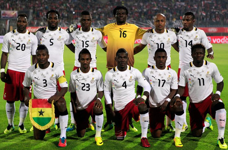 ghana world cup squad   African Nations Name World Cup Squads