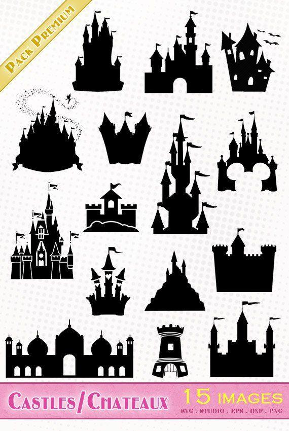 El envase contiene 15 imágenes de castillos : Castillo de ...