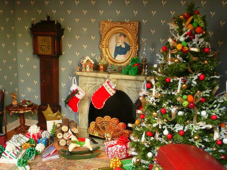 Dollhouse Photography Calendar : Best dollhouse christmas images on pinterest doll