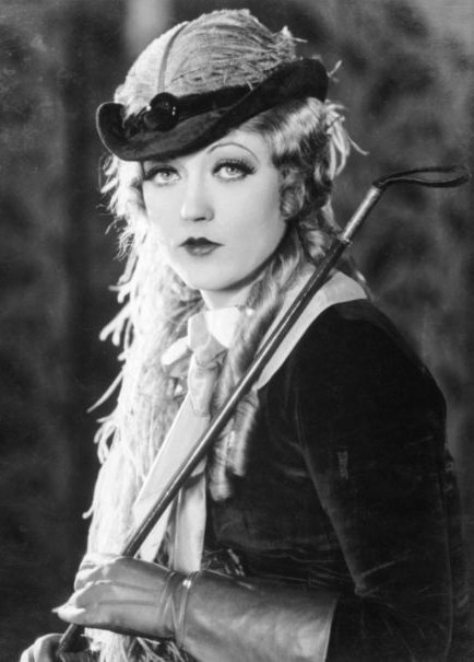 marion davies long hair