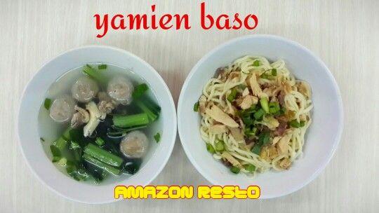 Yamien Baso #amazonresto