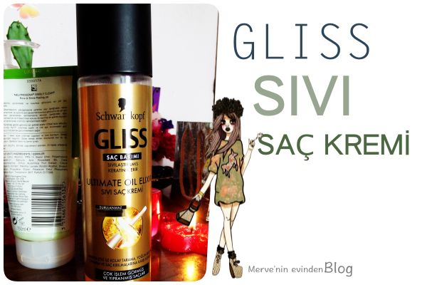 Gliss Ultimate Oil Elixir Sıvı Saç Kremi #gliss