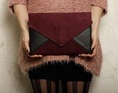 "Clutch bag ""Letter Medium Duocolor"""