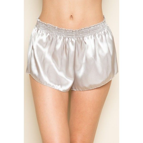 Ross Silky Shorts (850815 PYG) ❤ liked on Polyvore featuring shorts, stretchy shorts, pull on shorts, brandy melville, stretch shorts and brandy melville shorts