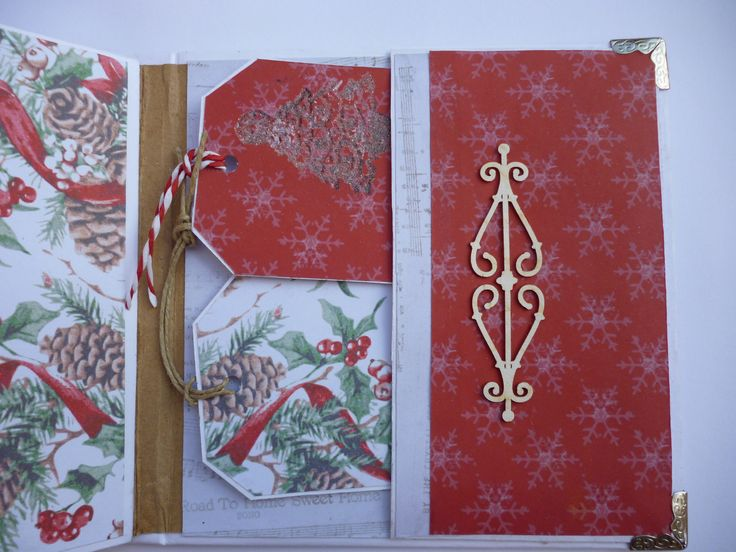 Handmade Christmas Mini Album