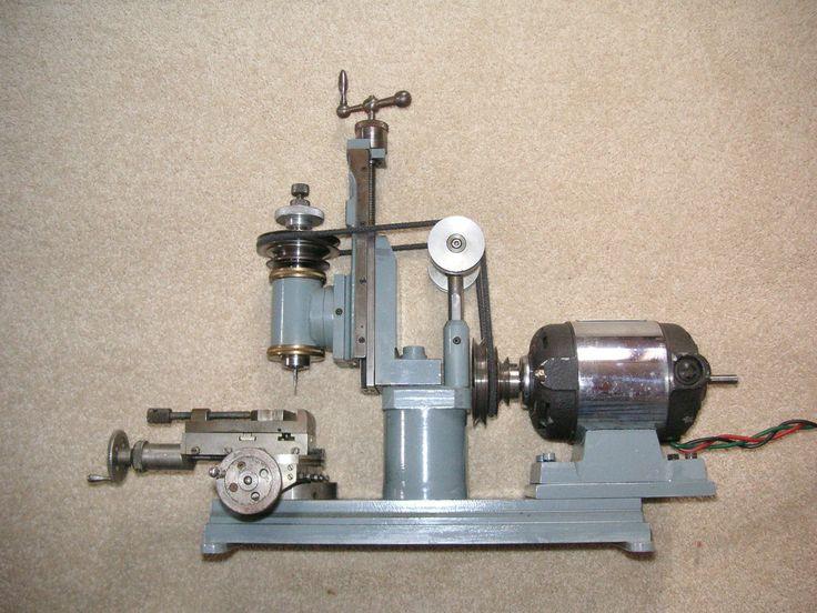 Mini Vertical Milling Machine - Instrument Maker Model Engineer - IME | eBay
