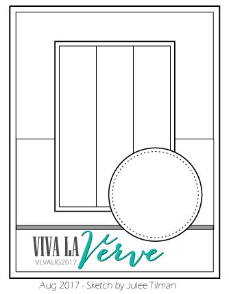 Viva la Verve Sketches: Viva la Verve Returns August Sketch Challenge