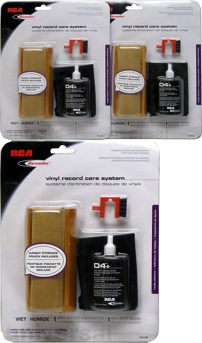 Vinyl Record Cleaning: 2 X Rca Rd-1006 Discwasher Vinyl Record Care System -> BUY IT NOW ONLY: $31.48 on eBay!