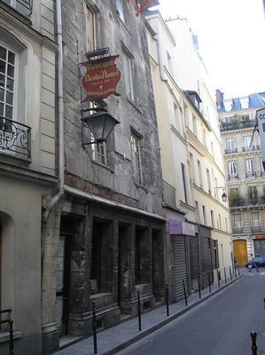 House of nicholas flamel- The oldest stone house in Paris was built by its most famous alchemist