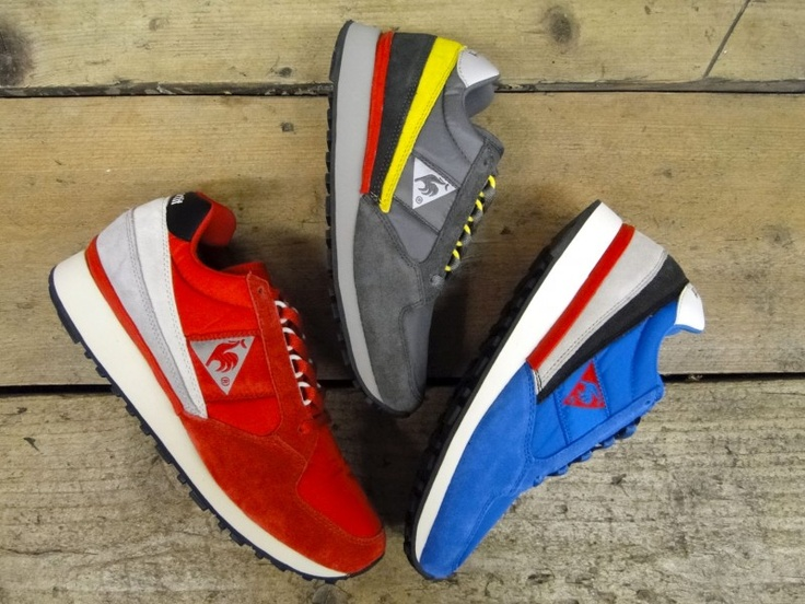 The Le Coq Sportif spring collection of the Eclat ( 1 of 4 )