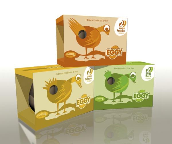 Embalagem de Ovos by Rui Sousa, via Behance