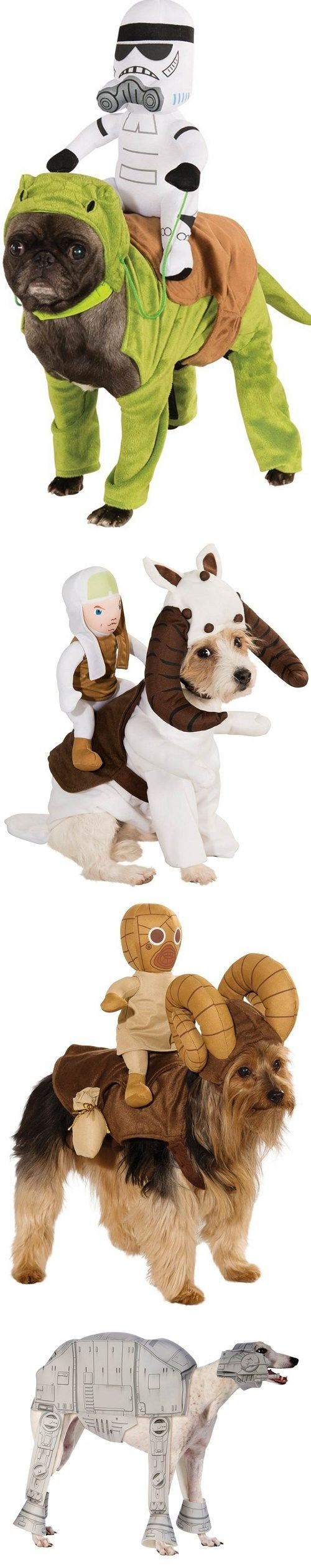 Star Wars Costumes for Dogs- seriously, I just laughed my ass off for 5 straight minutes over this