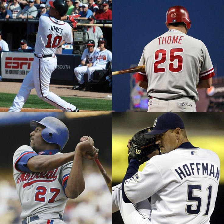 Solid job by the baseball writers for a change. Congrats to the Baseball Hall of Fame Class of 2018! #ChipperJones #JimThome #VladGuerrero #TrevorHoffman #Atlanta #Braves #AtlantaBraves #ATL #Philadelphia #Phillies #PhiladelphiaPhillies #FightinPhils #Montreal #Expos #MontrealExpos #SanDiego #Padres #SanDiegoPadres #MajorLeague #Baseball #MajorLeagueBaseball #MLB #HallOfFame #2018 #PIST #Sports