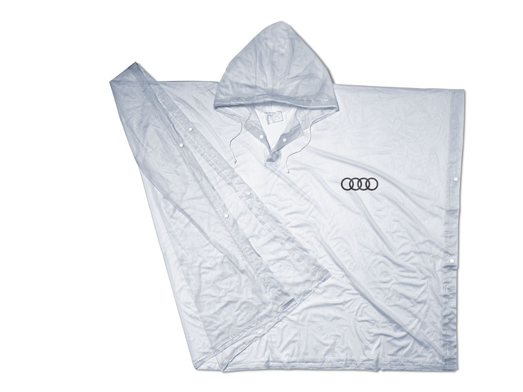 Rain poncho.    Available from: http://www.m25audi.co.uk