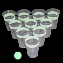 Bière-pong lumineuse