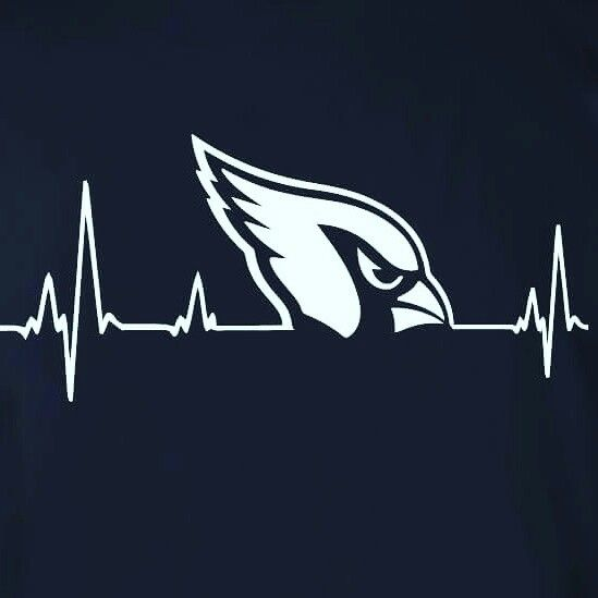 Arizona Cardinals Heartbeat. #BirdGang #AZLadyBirds  ❤ 5/2016