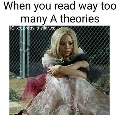 That's me all the time. I'm like; it could be Ezra. Wait, what about Noel Kahn? Nope. Cece Drake? Definitely not something I was expecting.
