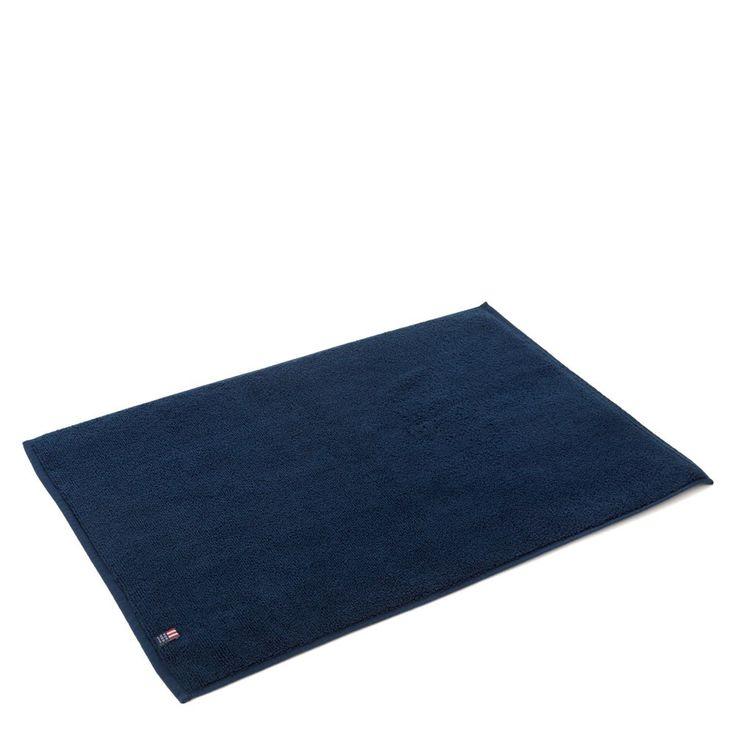 Simple Soft Navy Blue Bath Rugs : Simple Navy Blue Bath Rugs