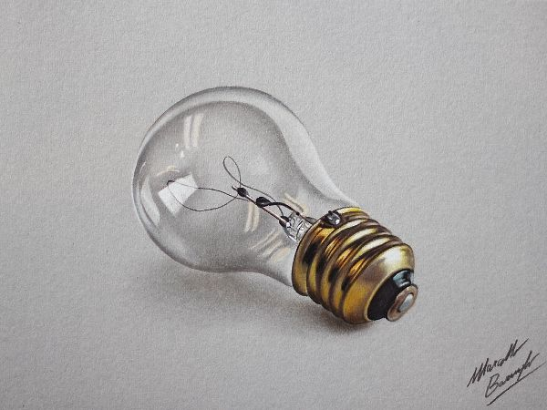Hyperrealistic, 3D Drawings Of Everyday Objects