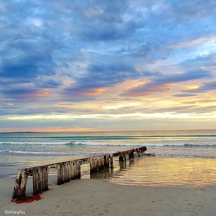 Beautiful Port Fairy! #portfairy #australia #sunrise #beach #summer