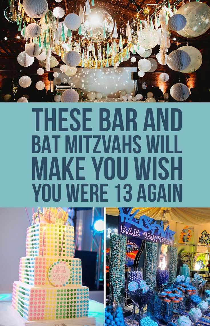 These Bar And Bat Mitzvahs Will Make You Wish You Were 13 Again