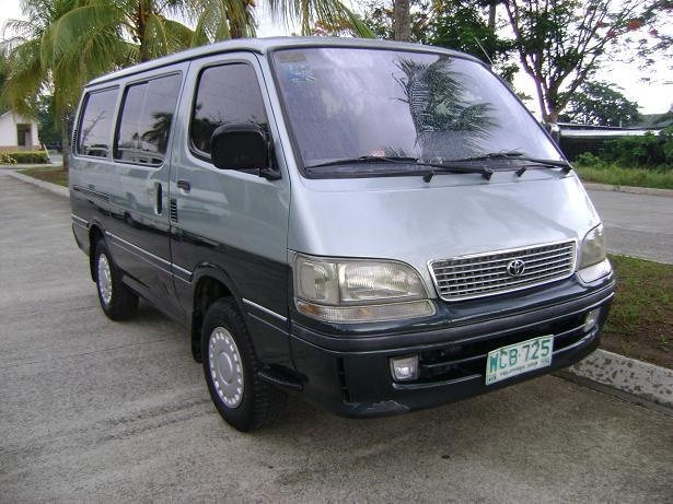 In the Philippines, the Hiace was first sold in 1995 with a diesel engine, getting revamped in 1997 as it went from business status to family van status.  http://www.hirebuysell.co.nz