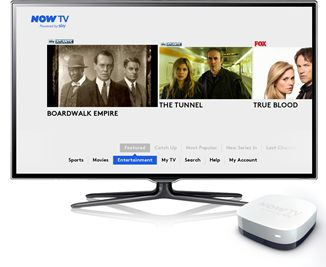 Sky's Now TV service now offers access to 10 entertainment channels for £4.99 per month