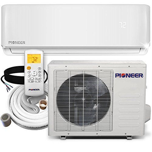 Pioneer WYS012-17 Air Conditioner Inverter+ Ductless Wall...