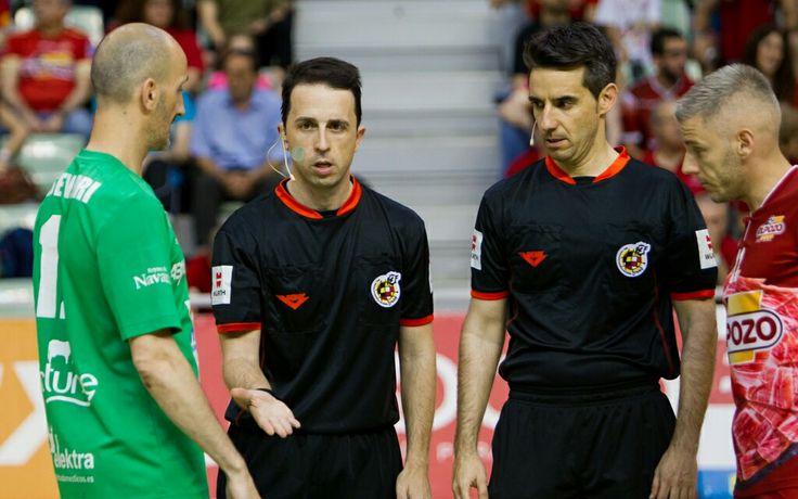 Cuartos de final Primera división futbol-sala. Temporada 15/16   El Pozo Murcia vs Magna Navarra - sorteo.