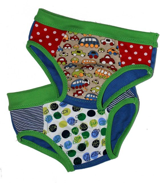 FREE: Pattern by Nicibiene for children's underwear.