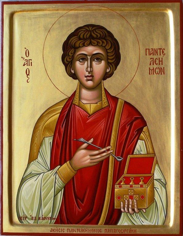 St. Panteleimon by Alexandra Kaouki of Crete