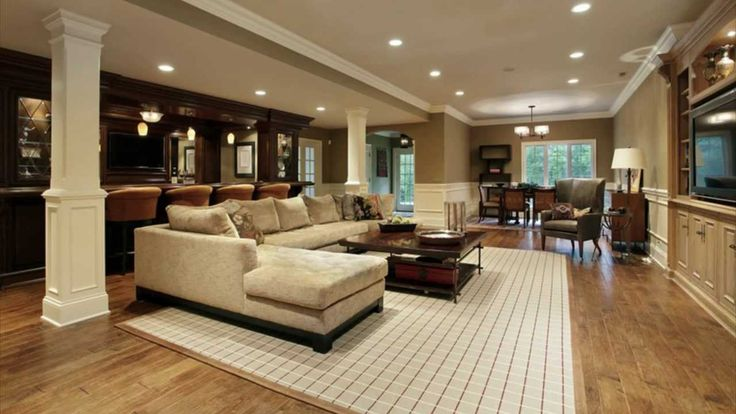 Cool Basement Ideas. Turn This Into A Massive Sitting Room With A Ballroom  Feel,