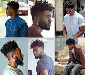 Cabelo Afro Masculino Short dreadlocks Fade/ Fios torcidos no topo e  raspados nas laterais