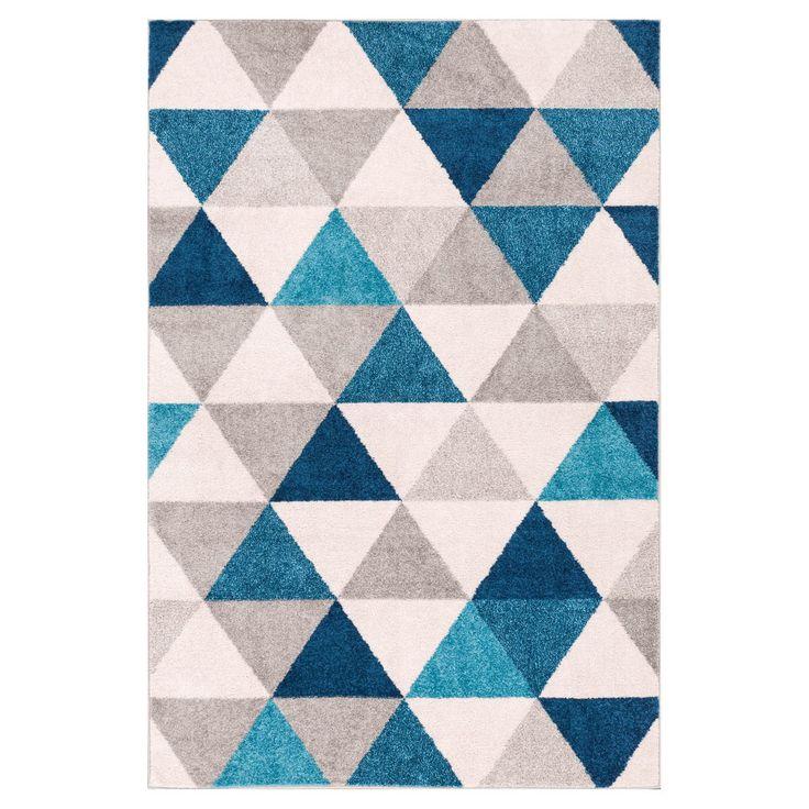 Well Woven Mystic Alvin Indoor Area Rug Gray / Blue