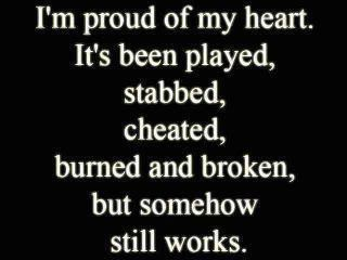 cheaters quotes for Facebook | proud of my heart. It's been played, stabbed, cheated, burned and ...