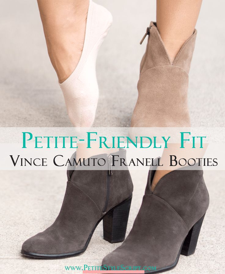 Petite Fashion | Petite Style | Vince Camuto Franell Booties Review | Short Ankle Booties | How to find a petite friendly fit with Vince Camuto Franell Booties | Suede or leather options to elongate your legs | How to wear comfortably all day long | Click to read more!